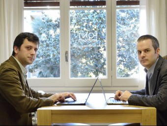 Marc Argemí, responsable de Sibilare, i Eloi Font, de Font Advocats.  JUDIT TORRES