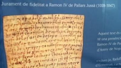 El Jurament de Radulf Oriol a Ramon IV de Pallars Jussà (1028-1047) ACN