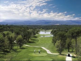 El forat 13 de la PGA Catalunya Resort de Caldes de Malavella. STEVE CARR