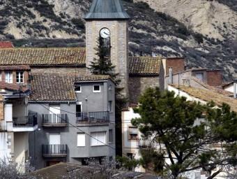 Una perspectiva de part del municipi de Castellfollit de Riubregós, en una imatge d'arxiu JUANMA RAMOS