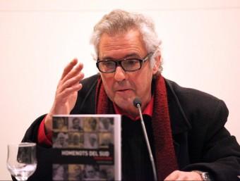 Xavier Garcia , EN LA PRESENTACIÓ DEL LLIBRE AL MUSEU D'ART MODERN DE TARRAGONA J.F