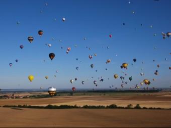 L'empresa catalana Ultramagic ha anat fabricant í venent globus per tot el món.  ARXIU