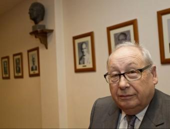 Marcel·lí Morera, és president de la Cambra de Valls des de fa dotze anys.  JOSÉ CARLOS LEÓN
