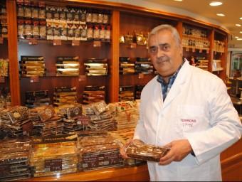 Àngel Velasco, propietari de Torrons Vicens.  ARXIU /JOAN TORT