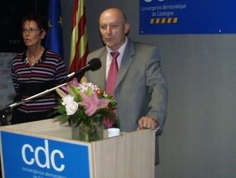 Jordi Vera, president de la federació de CDC a la Catalunya Nord A.R