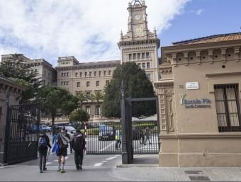 Entrada de l'Escola Pia de Sarrià, un dels centres que aquest divendres han conegut la resolució del seu recurs ALBERT SALAMÉ / ARXIU