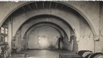 Presó de Pilats de Tarragona, on al 1939 s'hi van arribar a encabir més de 1.300 presoners. MHT