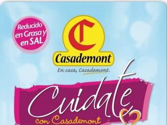 L'envàs de la nova línia 'Cuidate' de Casademont.