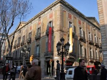 Els baixos del Palau Moja de Barcelona acolliran a finals d'any l'Espai Patrimoni, dedicat a la difusió del patrimoni català ISABEL MARQUÈS/ARXIU AVUI