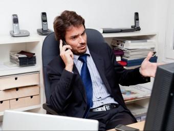 Jordi Herrera és el responsable comercial de Mobile high security, experts en comunicació encriptada.  L'ECONÒMIC