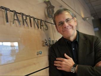 Santiago Tarinas, president executiu de Tarinas Grup, fotografiat a la seu central de Calella.  LLUÍS SERRAT