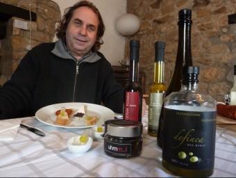 Martí Terés, conseller delegat d'ARP Catalonia, a la finca Les Teixeres, on enguany estrena tastos guiats i visites.  E.P