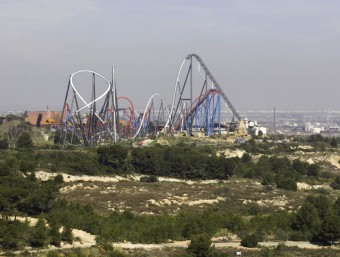 Artur Mas i Pere Navarro van signar a Tarragona l'acord marc del Centre Recreatiu i Turístic el dia 30 de marc passat. JOSÉ CARLOS LEÓN