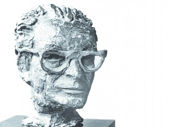 El bust que Fenosa va fer de Tzara l'any 1955. FUNDACIÓ APEL·LES FENOSA