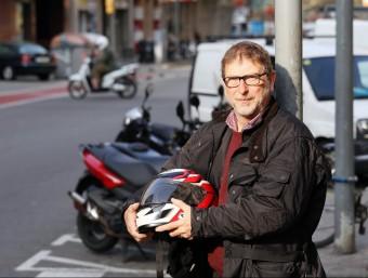 Jordi Bracons, promotor del saló del nou saló de motos.  ANDREU PUIG