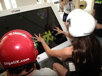 La Xtable de Digalix ha estat present en esdeveniments com ara el festival de música Sónar.  DIGALIX