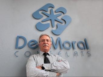 Joan del Moral, fundador i propietari de Frigorífics del Moral  JOAN SABATER