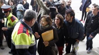 Protesta contra la declaració dels diputats en el judici pels fets del 15-J. O.DURAN