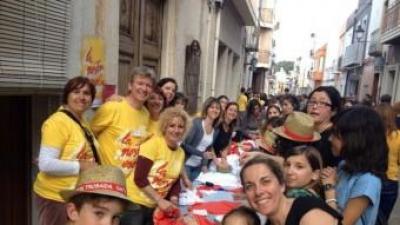 Tallers d'activitats pels carrers de Gata de Gorgos. ESCOLA VALENCIANA