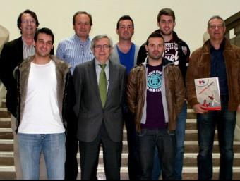 Presentació de la final del Trofeu Universitat de València. FREDIESPORT