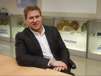 Marc Farrarons és el director comercial de Preziss i un dels fills dels fundadors de l'empresa.  ORIOL DURAN