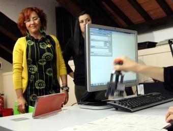 Hortènsia Grau (ICV-EUiA) i Isabel Vallet (CUP) han registrat la petició formal per portar la llei de BCN World al Consell de Garanties Estatutàries ACN