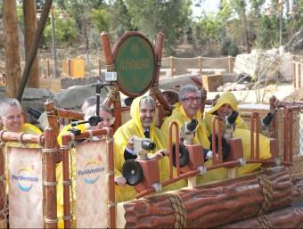 Viatge inaugural de l'atracció Angkor JUDIT FERNÀNDEZ