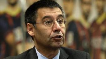 Josep Maria Bartomeu, president del Barça AFP