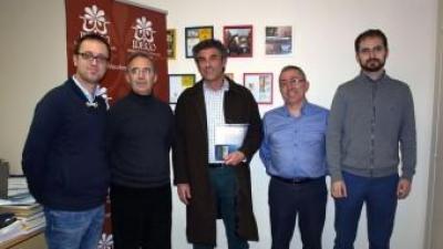 Wilson Ferrús rep la notícia del seu guardó en l'edició anterior. ESCORCOLL