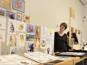 El paper és el gran protagonista de la fira del llibre d'art Arts Libris JUDIT TORRES