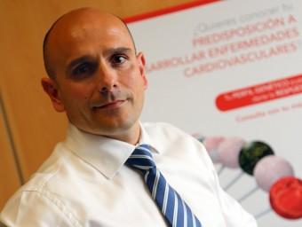 El director general de Ferrer inCode, Jordi Puig, a les oficines de l'empresa.  QUIM PUIG