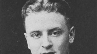 Francis Scott Fitzgerald patia del cor i era alcohòlic, com el protagonista del relat 'Temperature' ARXIU