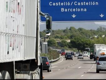 L'autovia A7 , de circumval·lació de València, a l'alçada de Paterna JOSEP CUELLAR/ ARXIU