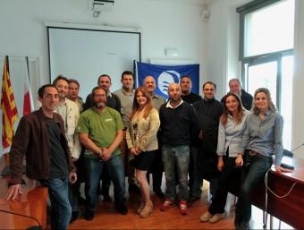 Els empresaris que s'han implicat en la junta rectora de l'Estació Nàutica Costa Brava E.A