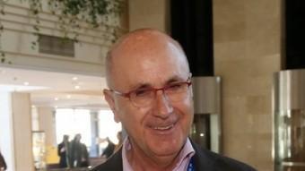 El president d'Unió, Josep Antoni Duran i Lleida, al Congrés Extraordinari de la formació, el passat febrer a Sitges JUANMA RAMOS