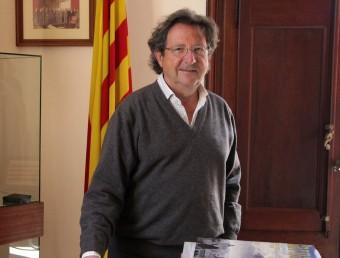 Joan Puig, a la Cambra de Sant Feliu de Guíxols.  JOAN SABATER