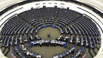 L'Eurocambra, durant una sessió plenària EL PUNT AVUI / ARXIU