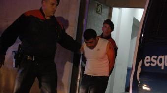 Un dels detinguts pels assalts del Baix Empordà, passa a disposició judicial. ACN