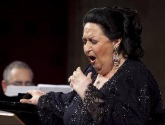 Montserrat Caballé, en un concert del 2012 al Festival de Peralada.  ACN