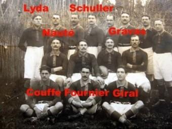 Esportius i víctimes Set morts a l'equip rossellonès que va ser campió en 1914. ARXIU