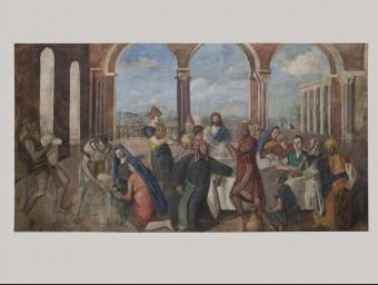 'Les noces de Canà', de Marià Llavanera M.L. / MUSEU DE L'EMPORDÀ