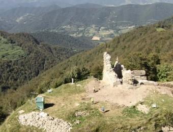 El castell de Milany de Vidrà, situat a Osona –abans al Ripollès– també es beneficiarà dels ajuts DDGI