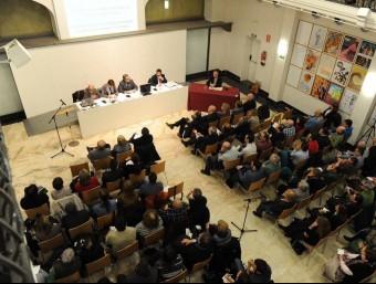 Audiència pública sobre els serveis públics de Lleida que es va celebrar al gener amb una gran participació PAERIA