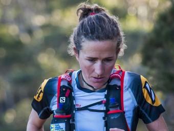 Núria Picas, en una cursa d'aquest estiu L'ESPORTIU