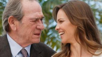 Tommy Lee Jones i Hilary Swank ahir al Festival de Canes JULIEN WARNAND / EFE