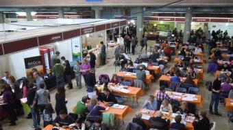 Firatast s'ha consolidat com una de les mostres gastronòmiques que atrau més gent. IMMA BOSCH