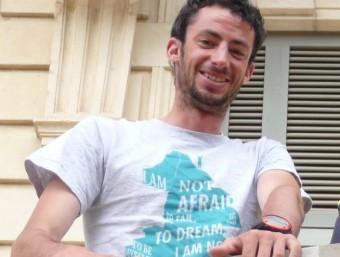 Kilian Jornet, en una foto recent a Barcelona M.S