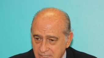 El ministre espanyol d'Interior, Jorge Fernández Díaz, aquest dijous a Lleida ACN