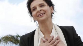 Juliette Binoche és capaç com ningú de reflectir l'experiència humana JULIEN WARNAND / EFE