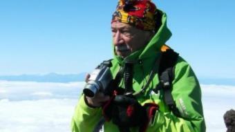 Jordi Pons amb la seva càmera ARXIU
